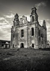 Смоляны. Монастырь доминиканцев: костел Девы Марии