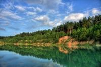 На меловом озере