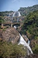 Индия. Дудхсагарский водопад